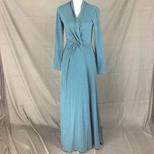 eSHAKTI | maxi wrap dress | Med